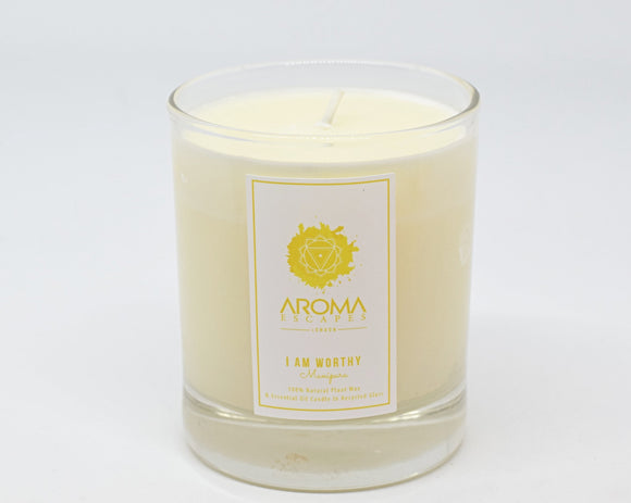 03. 30cl I Am Worthy Chakra Candle