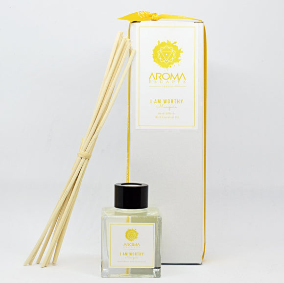 03. I Am Worthy 100ml Chakra Reed Diffuser