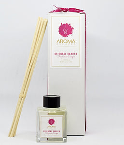 24. 100ml Fragrance Oriental Garden Reed Diffuser