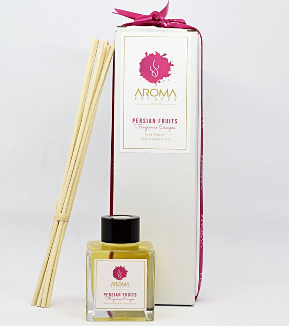 21. 100ml Fragrance Persian Fruits Reed Diffuser