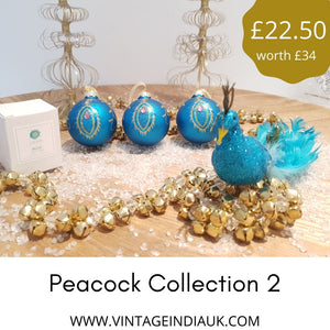 Christmas Peacock Collection 2