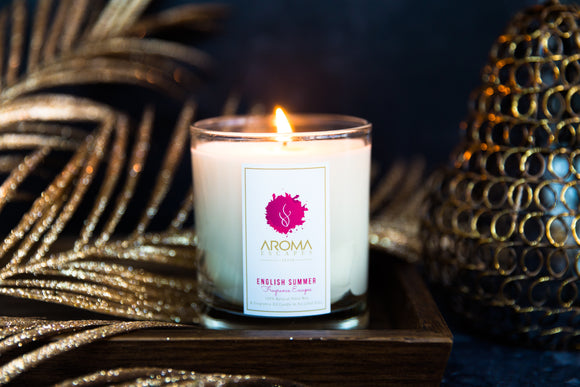 22. 30cl Fragrance English Summer Candle
