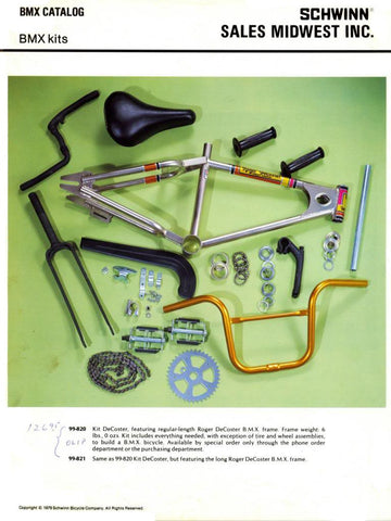 DeCoster Schwinn catalog