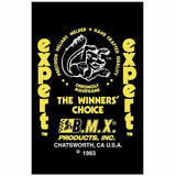 1983 Expert Mongoose decal set - yellow