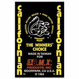 1983-85 Mongoose Californian Seatmast decal