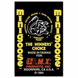 1984 Minigoose Mongoose decal set