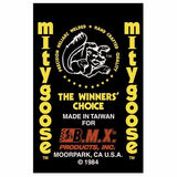 1984 Mitygoose Mongoose decal set