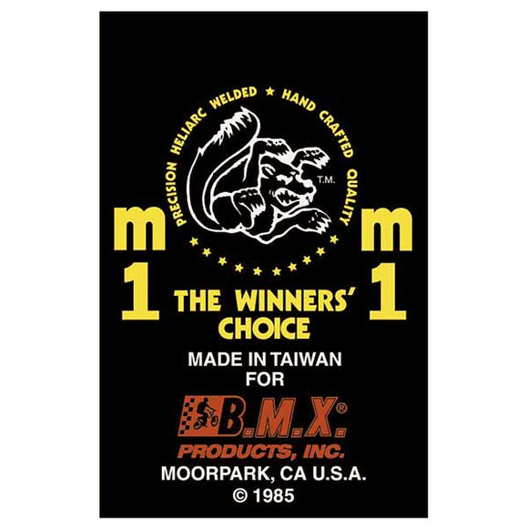 1985 M1 Mongoose decal set
