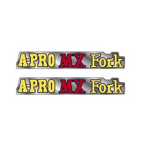 Akisu - Red A-PRO MX Fork decals