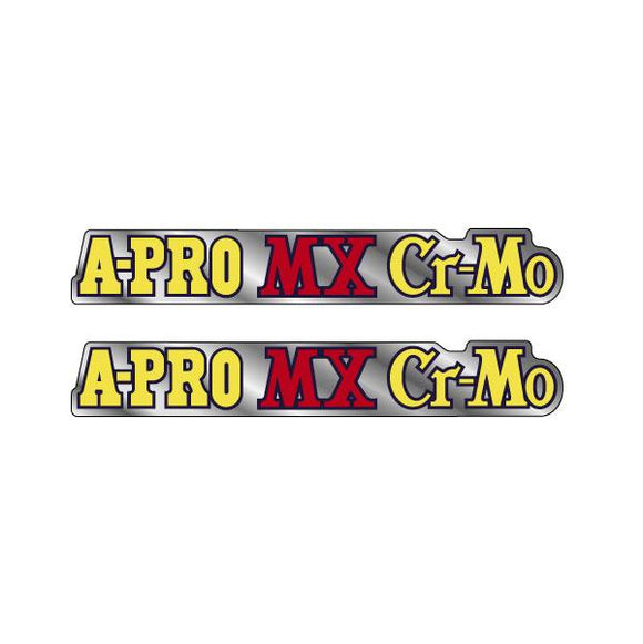 Akisu - Red A PRO MX Cromo Fork decals