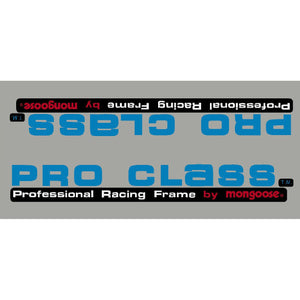1983-84 Pro Class Mongoose down tube decal - black