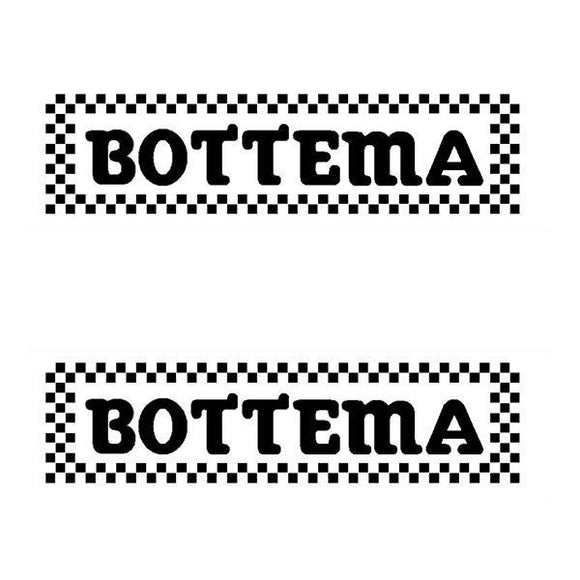 Bottema - Checkers Fork Decals Old School Bmx Decal