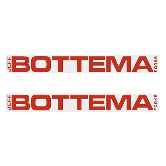 Bottema - Red Fork Decals Old School Bmx Decal