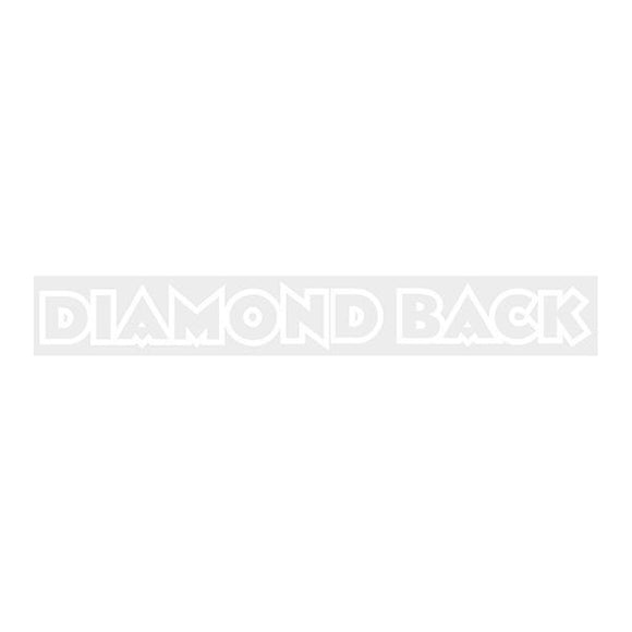 Diamond Back - White Stem Decal Old School Bmx