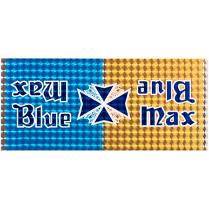 1980-81 Blue Max Blue/Gold Prism down tube decal
