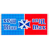 1982-83 Blue Max Blue/Red Prism Decal set