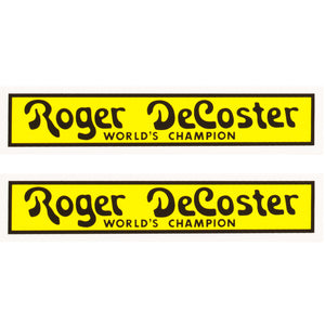 1976-81 Roger DeCoster fork decal set