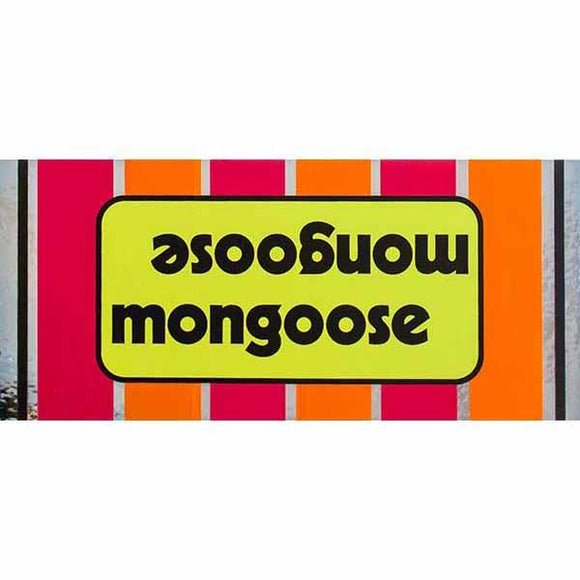 1975-76 Mongoose Motomag Green top tube decal