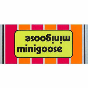1976 Minigoose Mongoose Green top tube decal