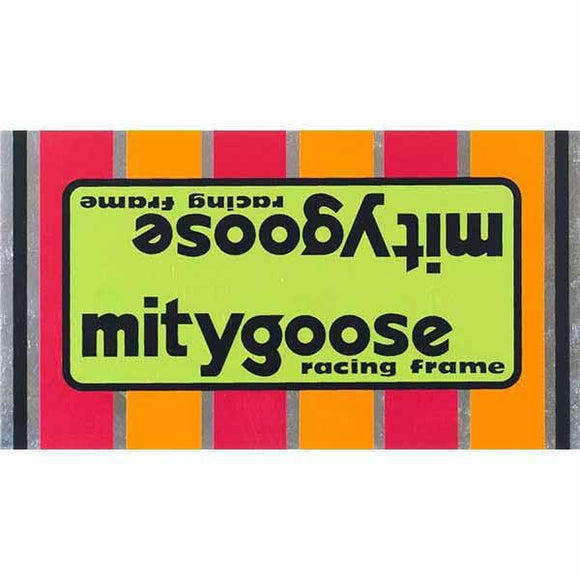 1978-80 Mitygoose Mongoose Green down tube decal