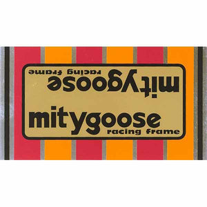 1980-81 Mitygoose Mongoose decal set
