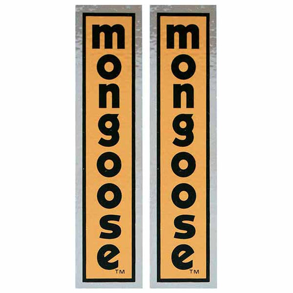 1980-81 Mongoose fork decal set