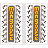 1983 Californian Mongoose decal set - orange/yellow