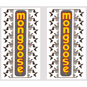 1983-85 Mongoose fork decal set
