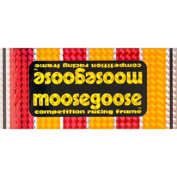 1980-81 Moosegoose PRISM Mongoose down tube decal