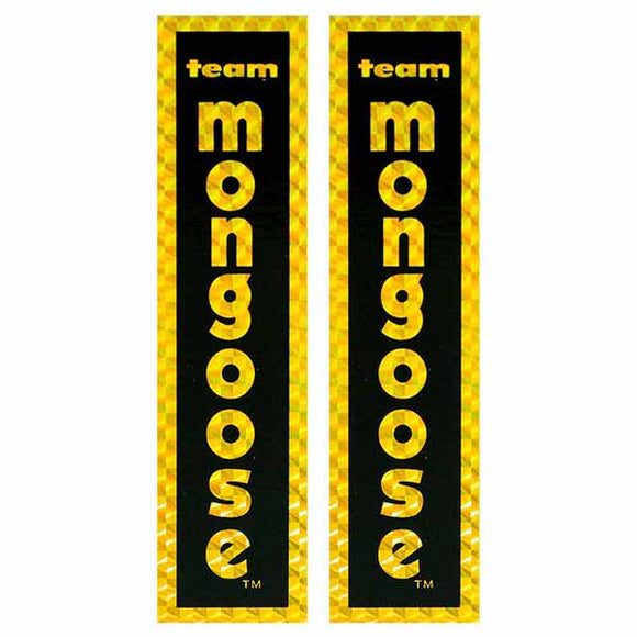 1980-83 Team Mongoose fork decal set
