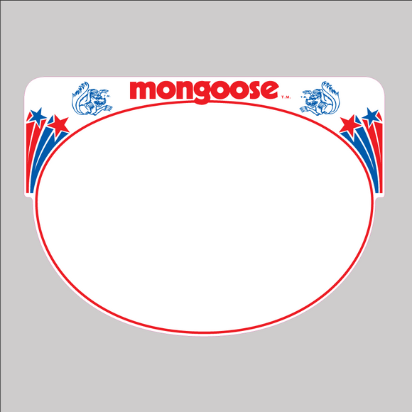 Mongoose Pro Plate - decal