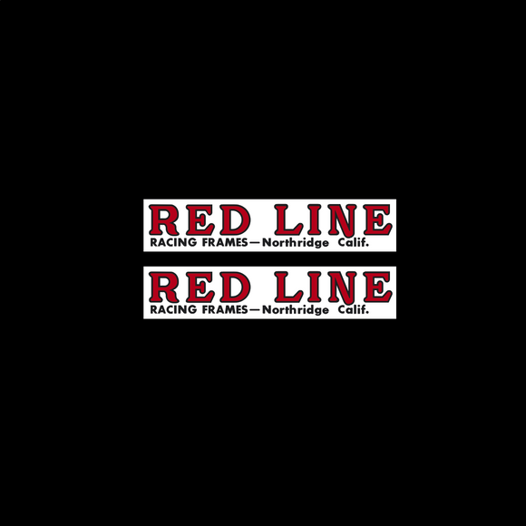 Redline - Northridge Fork decals - for STEEL FORK