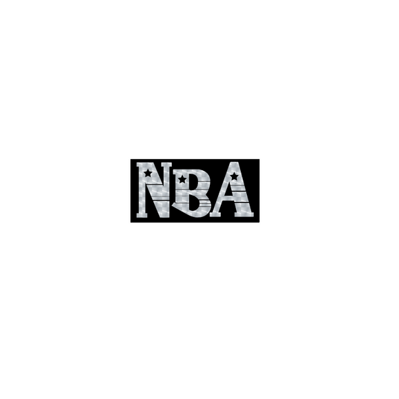NBA (National Bicycle Association) logo decal