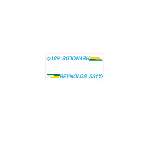 Reynolds 531 SE Racing tube decal - blue