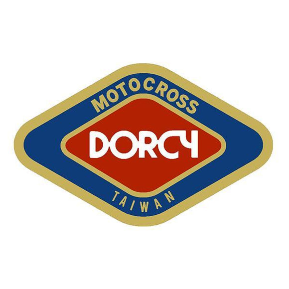 Dorcy - Box Bars And Parts Decal Old School Bmx