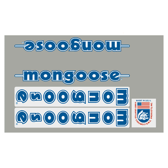 1985 Pro Class 24 Mongoose decal set
