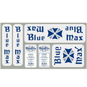 1984-85 Blue Max Decal set