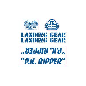 P.K. Ripper Decal set - intense blue