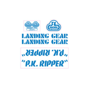 P.K. Ripper Decal set - olympic blue