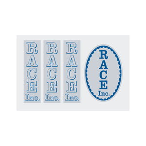 Race Inc. Race-1 Decal set