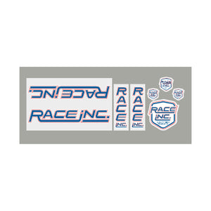 Race Inc. RA Decal set - red/white/blue