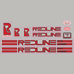 Redline PL-20 Carrera decal set