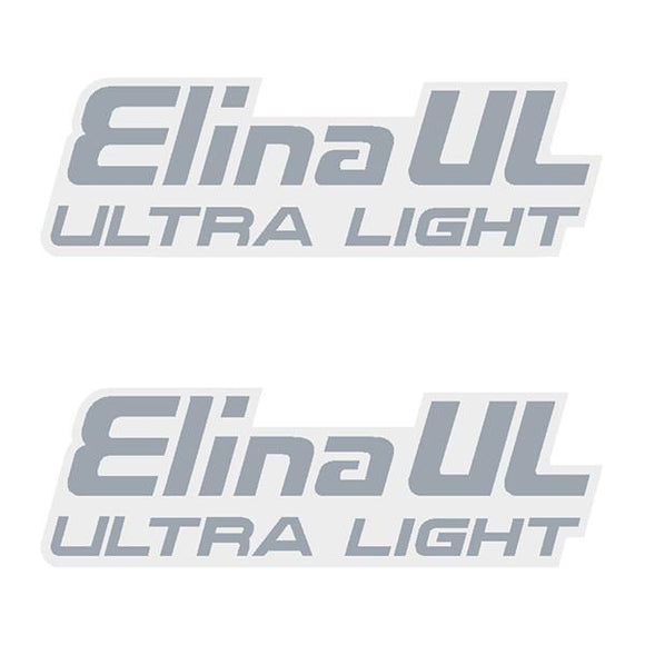 Elina - Ul Ultra Light Seat Decal Set Old School Bmx