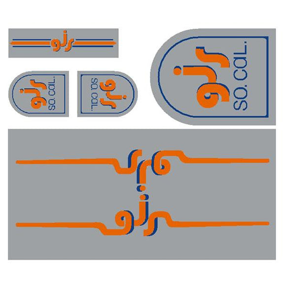 GJS - Gen 2  - chrome decal set