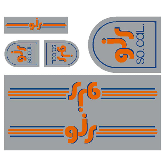GJS - Gen 3  - chrome decal set
