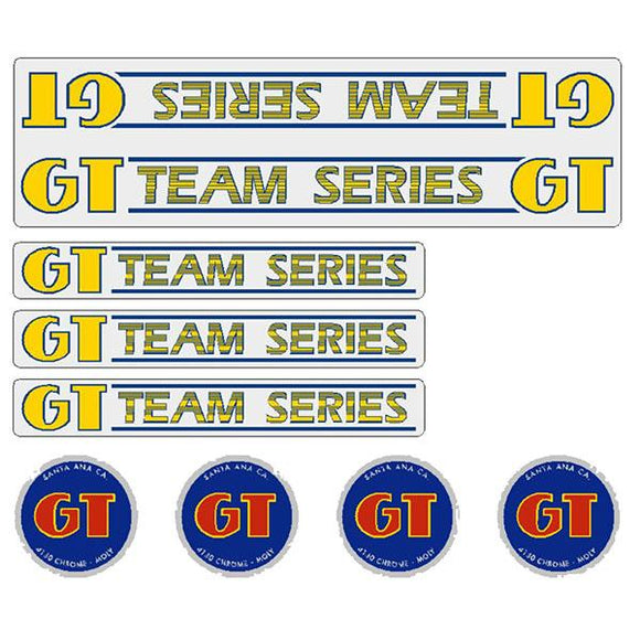 GT - 84-85 TEAM Series - Clear - decal set