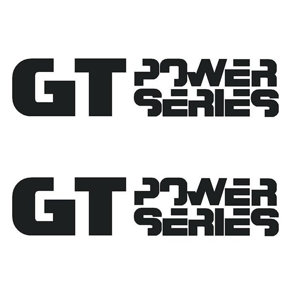 Gt Bmx - Power Series Crank Die Cut Decals Old School Decal