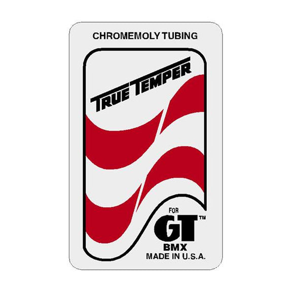 GT - True Temper - seat tube decal