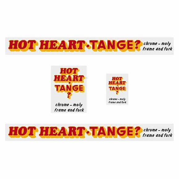 Tange - Hotheart Bmx Question Mark Decal Set Old School Bmx Decal-Set