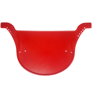 Neal Enterprises Proto-Plate BMX Number Plate - Red